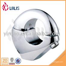 Grifo de baño de latón de forma redonda diseño único