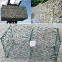 Malla de alambre Gabion recubierto de PVC