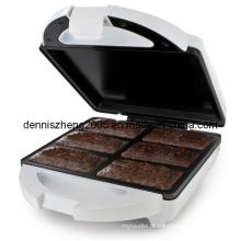 Máquina eléctrica Browine Brownie Maker sobremesa Taça Maker waffles Stick Maker Maker de Pretzel macio de cachorro-quente