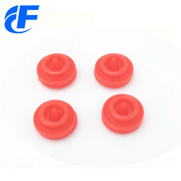 Round shape plastic snap button for raincoat