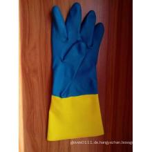 Double Color Neopren Industrial Work Handschuh