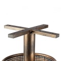 Brass Wrought Iron Bar Height Table Base