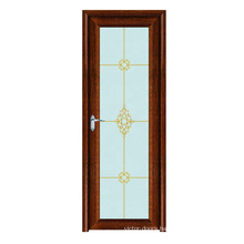 Excellent quality aluminum single leaf double swing flush door