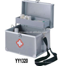 Nova chegada de alumínio vazio primeiros socorros caixa vendas quentes