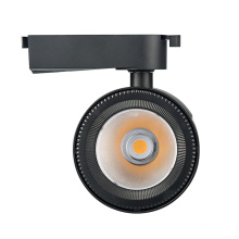 Modern luxury High Quality 2021 Museum Modern 48v Alumium Housing Track Light cri 90 cob Dimmable magnet spot light