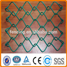 2'' Hot-dipped Galvanized Chain Link Fence for sport field