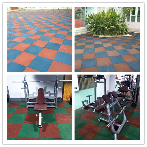 Pure Color Rubber Floor