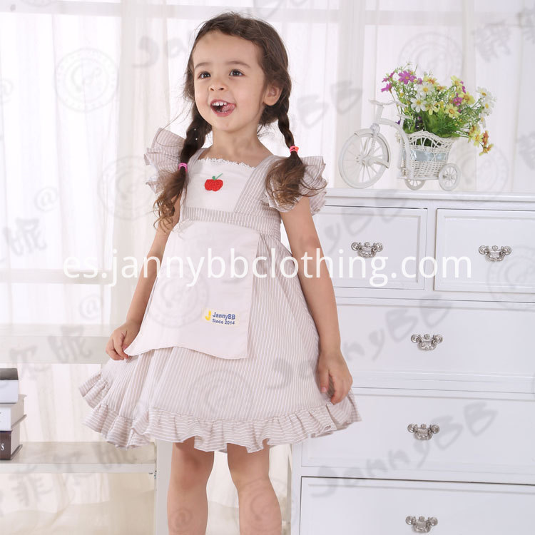girls apron dress
