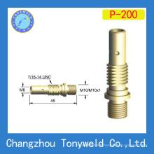 mig welding gun 200A Panasonic style contact tip holder