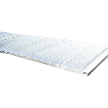 Overall galvanized steel pig slat floor for pig farm