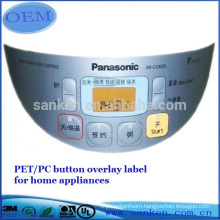 New promotion control panel led membrane switch for wholesales