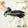 100% Real Leather Women Fashion Leather Gloves with BSCI Certificated