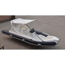 2014 Brunnen-Entwurfs-steifes Rumpf-Fiberglas-Boot PVC-materielles aufblasbares Boot mit CER China