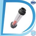 Tipo acrílico do tubo de Lzs medidor de fluxo do ABS ou do PVC encaixe