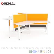 Orizeal workstation furniture,modern office adjustable desk,modular desk system(OZ-ODKS058D-2)