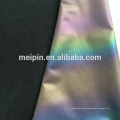 High visible soft waterproof rainbow reflective stretch textile/fabric
