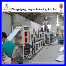 Máquina de producción de láminas de PVC de alta calidad (0.4-2.0mm) con formulación