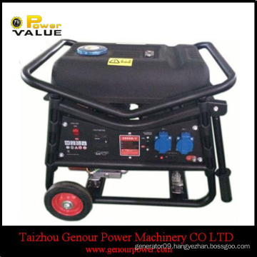 China Power 168F-1 engine 2.5kw Gasoline generator PLG GAS electric start WITH BATTERY copper WIRE