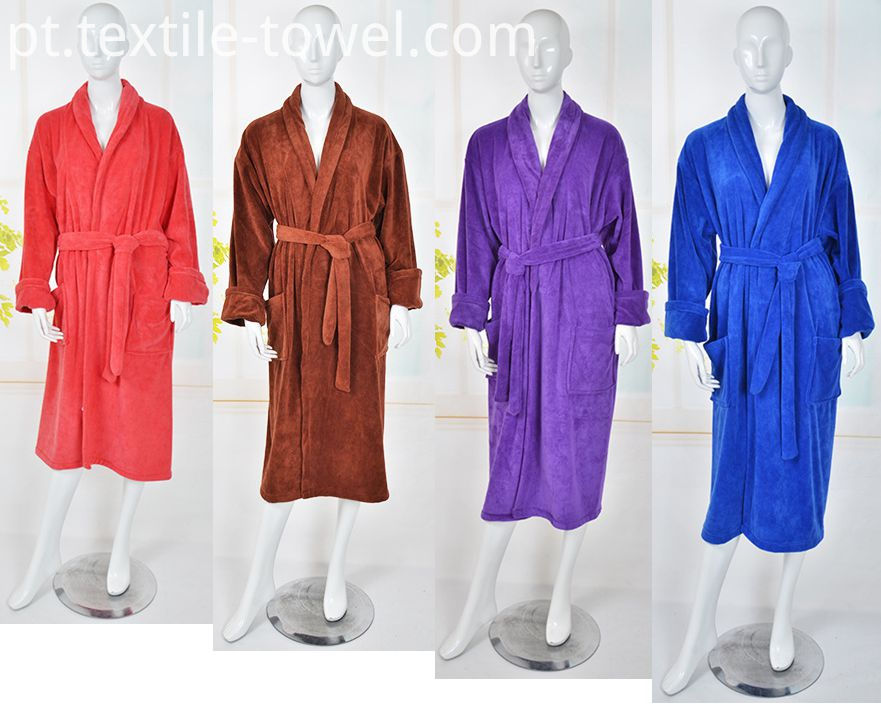 Plush Women's BathRobe