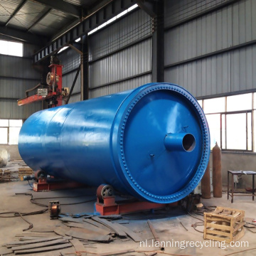 Lanning Afval Recycling Rubber Machine