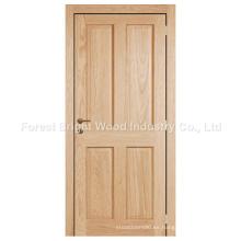 2015 puerta de hotel de madera sólida del nuevo diseño moderno