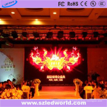 Prix de panneau d'affichage à LED Inde P6 d'intérieur fixe polychrome