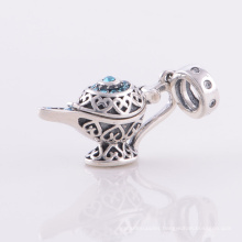 925 Sterling Silver European Beads with CZ Jewellery