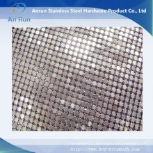 Sequin Mesh Stoff / Metall Mesh Vorhang