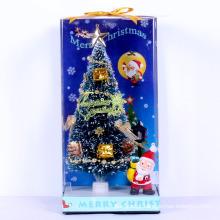 Alta qualidade de fibra óptica mini árvore de Natal artificial para carro