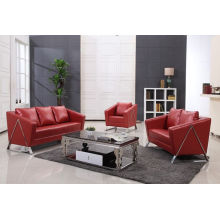 Gorgeous Office Sofa in PU/Leather (S-8801)