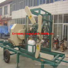 Horizontal Band Saw for Wood Mj700d Diesel Bandsaw Machine Price
