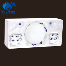 Heat Resistant Opal Glassware-9PCS Soup Set