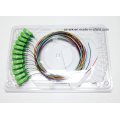 Sc / APC 12 fibre optique de fibre de cochon