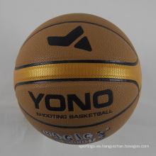 Bola modificada para requisitos particulares fábrica del baloncesto de la PU del tamaño 7 de la fábrica de China