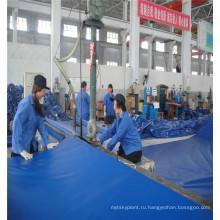 Китай manufacturer150g листа 14х14 белый армированного брезента PE