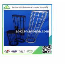 Jaula de soporte recubierta de silicona de la central térmica para ventas al por mayor de baghouse