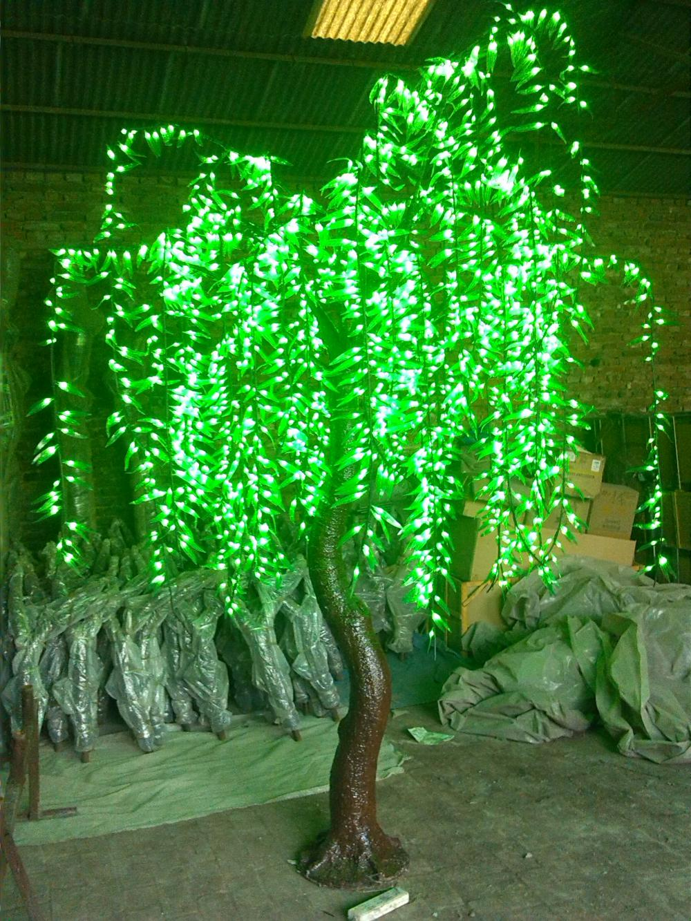 led willow branches