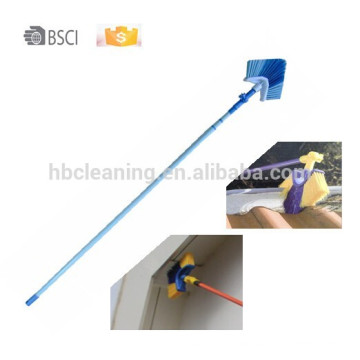 360 degree swivel corner brush, 0 risk eaves broom,9years factory ceiling broom,