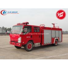 2019 Novo veículo de combate a incêndio ISUZU 4000litres