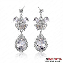 Vintage CZ Chandelier Earrings Fashion (CER0028-B)