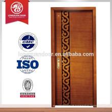 Porta de madeira sólida de pinho para escritório / hotel