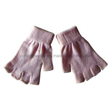 Customized Knitted Acrylic Half Finger Magic Gloves/Mittens