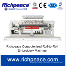 Richpeace Computerized Thin Material Single Roll Quilting and Embroidery Machine