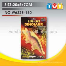 Projeto de modelo de moda dinossauro de borracha suave TPR