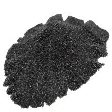 Black polishing silicon carbide particle