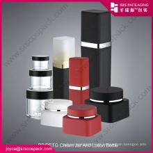 China Um conjunto de recipientes cosméticos loção garrafa e Creme Jar PP Creme Jar