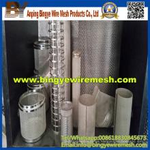 Cilindro de filtro perforado de procesamiento profundo de alta calidad