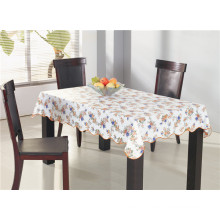 Popular Promotional PVC Printed Tablecloth with Backing