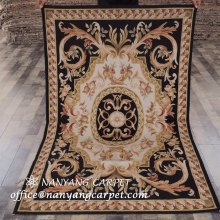 4'x6' Handwoven French Aubusson Rug for Sale