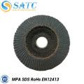 China fabricantes de disco de corte flap abrasivo com suporte de fibra de plástico para polimento